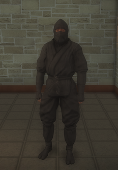 Gang Customization - Ninjas - male lieutenant 2 - black