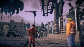 Naked Male Playa in Saints Row IV