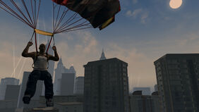Parachute - Saints Row 2 promo