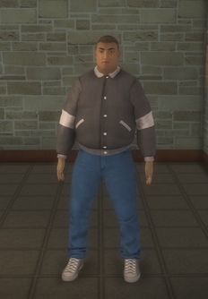 Skeeter - asian generic - character model in Saints Row 2