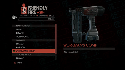Weapon - SMGs - Rapid-Fire SMG - Nailgun - Workman's Comp