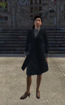 BusinessWoman-01 - asian - character model in Saints Row