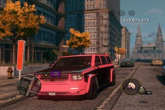 Kayak - Genki variant front left parked in Saints Row The Third