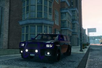 Kayak - front left parked in Saints Row The Third