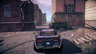 Pacemaker in Saints Row IV - rear