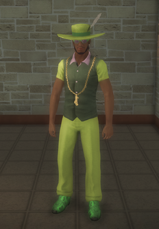 Pimp - black - character model in Saints Row 2