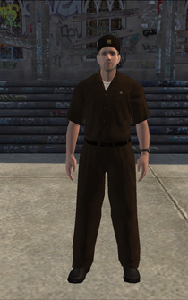 UPS - whiteUPS - character model in Saints Row