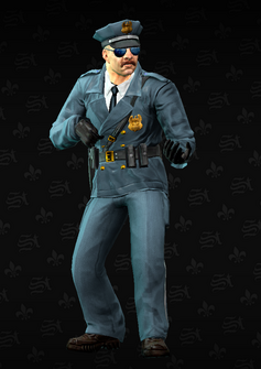 Cop - sniper - Jones - character model in Saints Row The Third