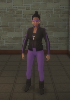 Gang Customization - 80s - female lieutenant - hispanic