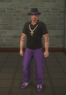 Gang Customization - Gangster - male lieutenant - white
