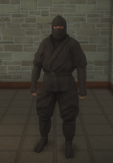 Gang Customization - Ninjas - male lieutenant 1 - hispanic