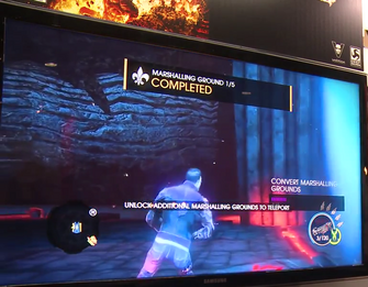 Gat out of Hell Gameplay Demo 0950 HUD - Marshalling Ground complete 1of5