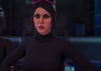 Kiki in an unknown cutscene in Saints Row The Third Remastered