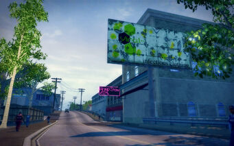 Poseidon Alley in Saints Row 2 - Viral billboard