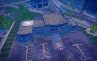 Stilwater Memorial Hospital - aerial view