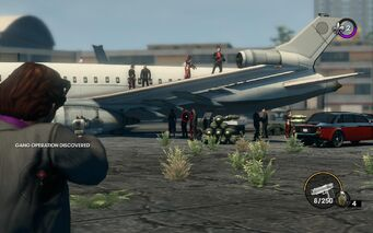 Gang Operation at airport in Saints Row The Third