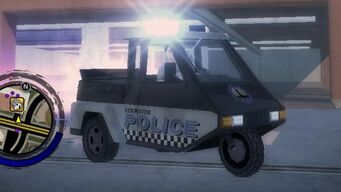 Quota - front right with flashing lights in Saints Row 2