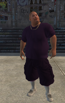 Saints male Thug2-01b - Asian - character model in Saints Row