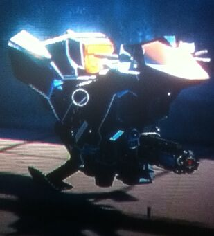 Ultor Interceptor - front right in Saints Row The Third (replace - poor quality)
