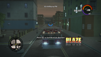 Blaze - front in Saints Row 2