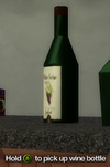 Improvised Weapon - wine bottle