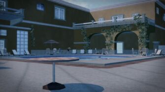 Lopez Mansion - rear view in Saints Row 2
