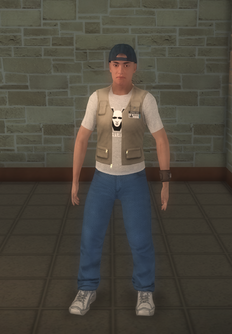Paparazzi - FUZZ Cameraman - character model in Saints Row 2