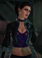 Shaundi in an unknown cutscene in Saints Row The Third Remastered