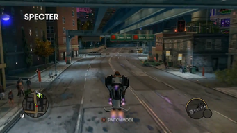Specter - rear in Saints Row The Third