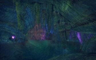 Stilwater Caverns - Stalagtites
