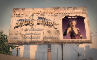 Store Ownership billboard - Bling Bling - Ultor Dome east
