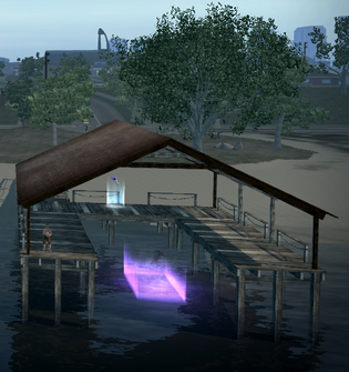 Suburbs dock from west