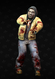 Zombie 02 - Clinton - character model in Saints Row The Third