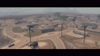 Elysian Fields Trailer Park intro - overview of trailer park