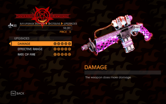 Gat out of Hell - 7 Deadly Weapons - Lust - Upgrades