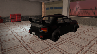 Saints Row variants - Voxel - Racer 02 - rear right