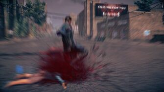 Combat in Saints Row IV - Super throwdown stomp - end