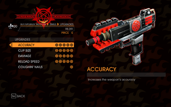 Gat out of Hell - Rapid-Fire SMG - Upgrades