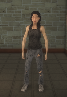 Junky - asian female - character model in Saints Row 2