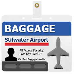 SR2 Badge Airport