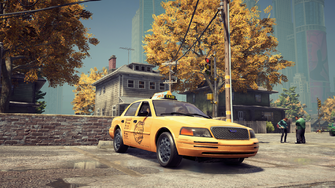 Taxi - front right in Saints Row The Third Remastered