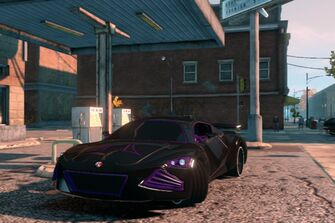 Temptress - front left in Saints Row The Third