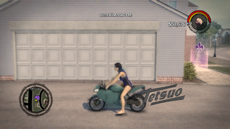Tetsuo - left in Saints Row 2
