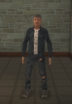 Bum - hispanic male - character model in Saints Row 2
