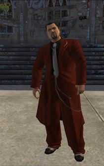 Hector Lopez - cutscene - character model in Saints Row