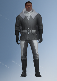 Keith - simulation - character model in Saints Row IV