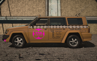 Saints Row IV variants - Kayak Taxi tna - left