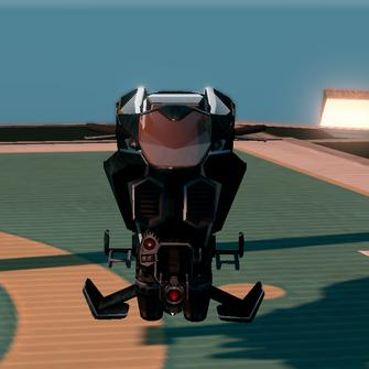 Saints Row The Third DLC vehicle - Ultor Interceptor - parked - front