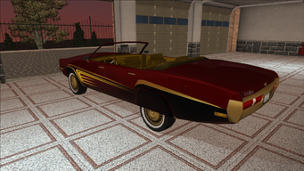 Saints Row variants - Cavallaro - Gang LC - rear left