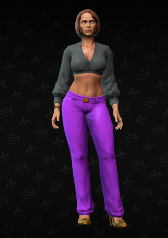 Gang Customization - Clubber 3 - Layla - in Saints Row The Third